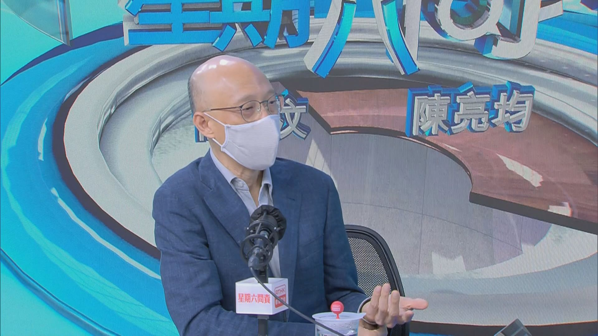 黃錦星:政府的減廢回收的工作不會停下來