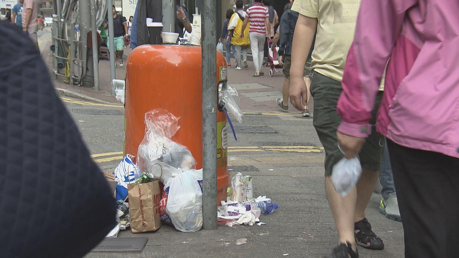 黃錦星:18個月後落實垃圾徵費要視乎經濟情況