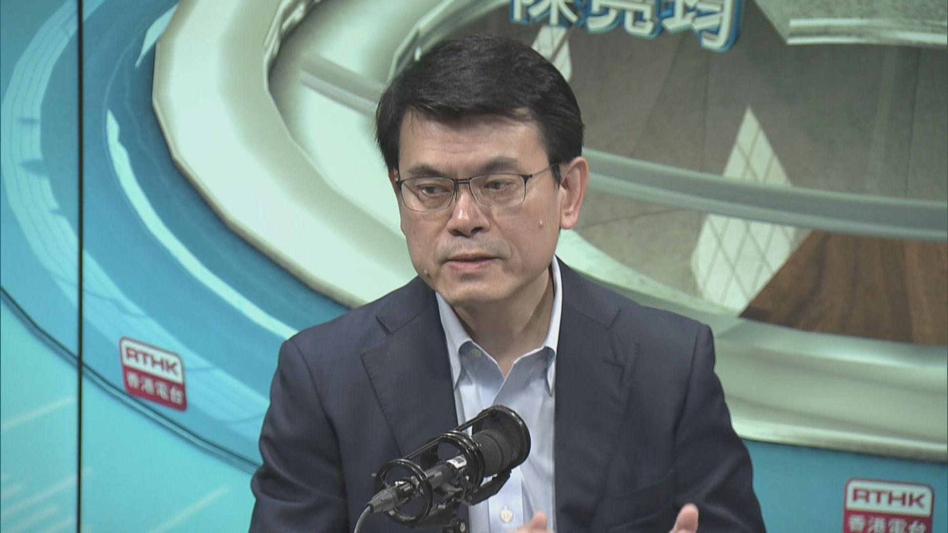 邱騰華指政府沒有因經濟環境縮減經濟開支