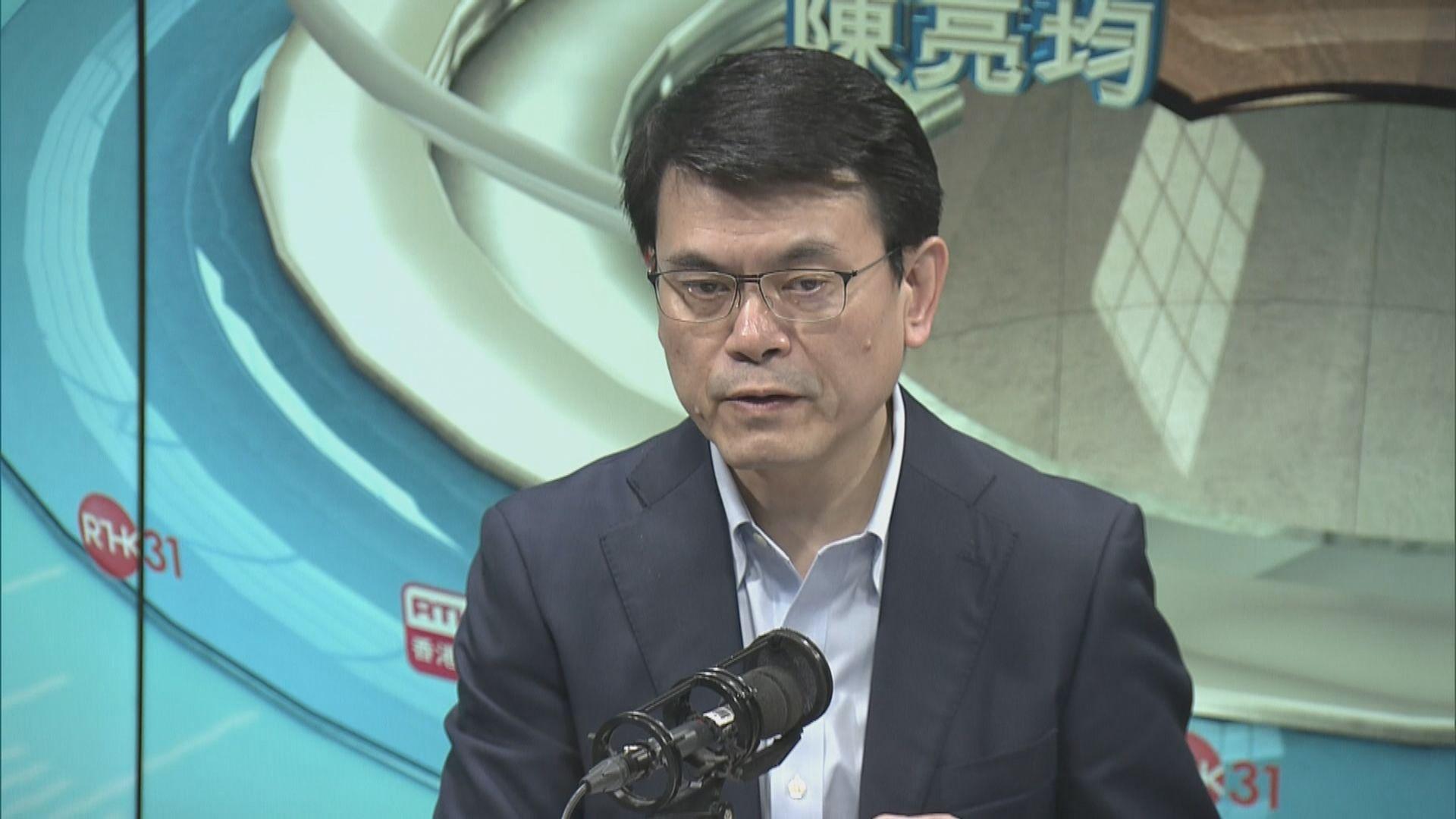邱騰華:視乎中美貿易談判情況商討對策