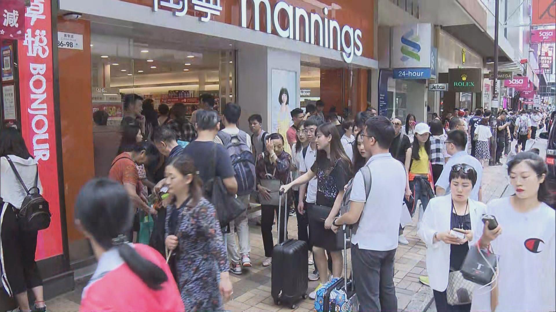 邱騰華:大批旅客訪港無可避免影響市民生活