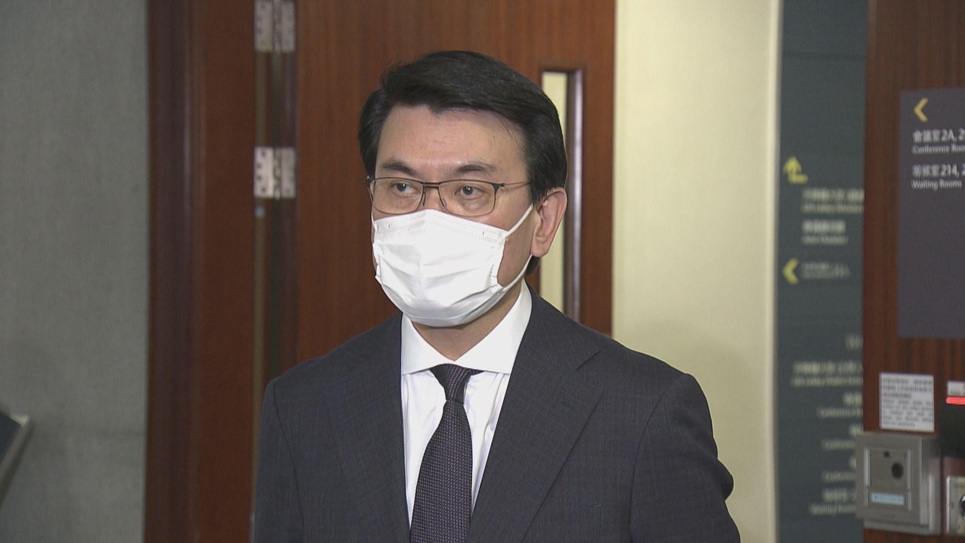 邱騰華:將與旅遊業界商討津貼計劃申請資格