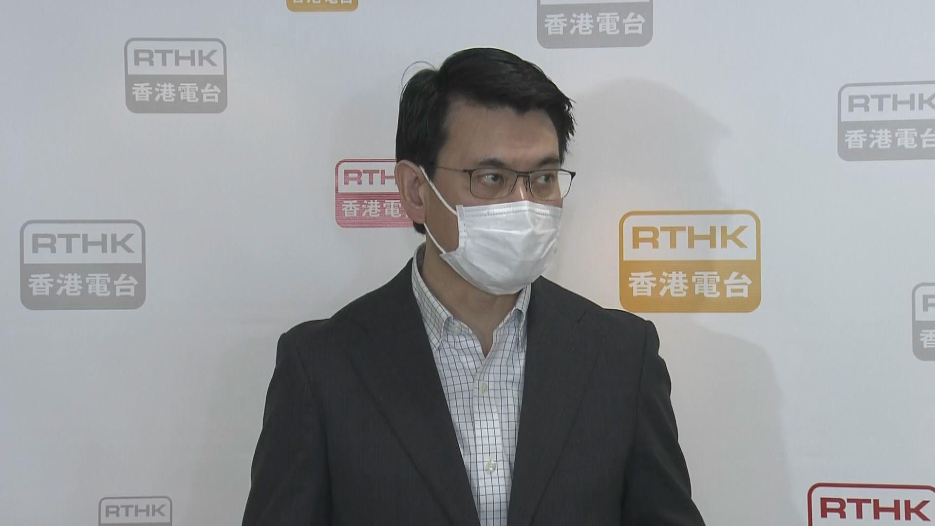 邱騰華:料本月中可推出中小企百分百擔保計劃