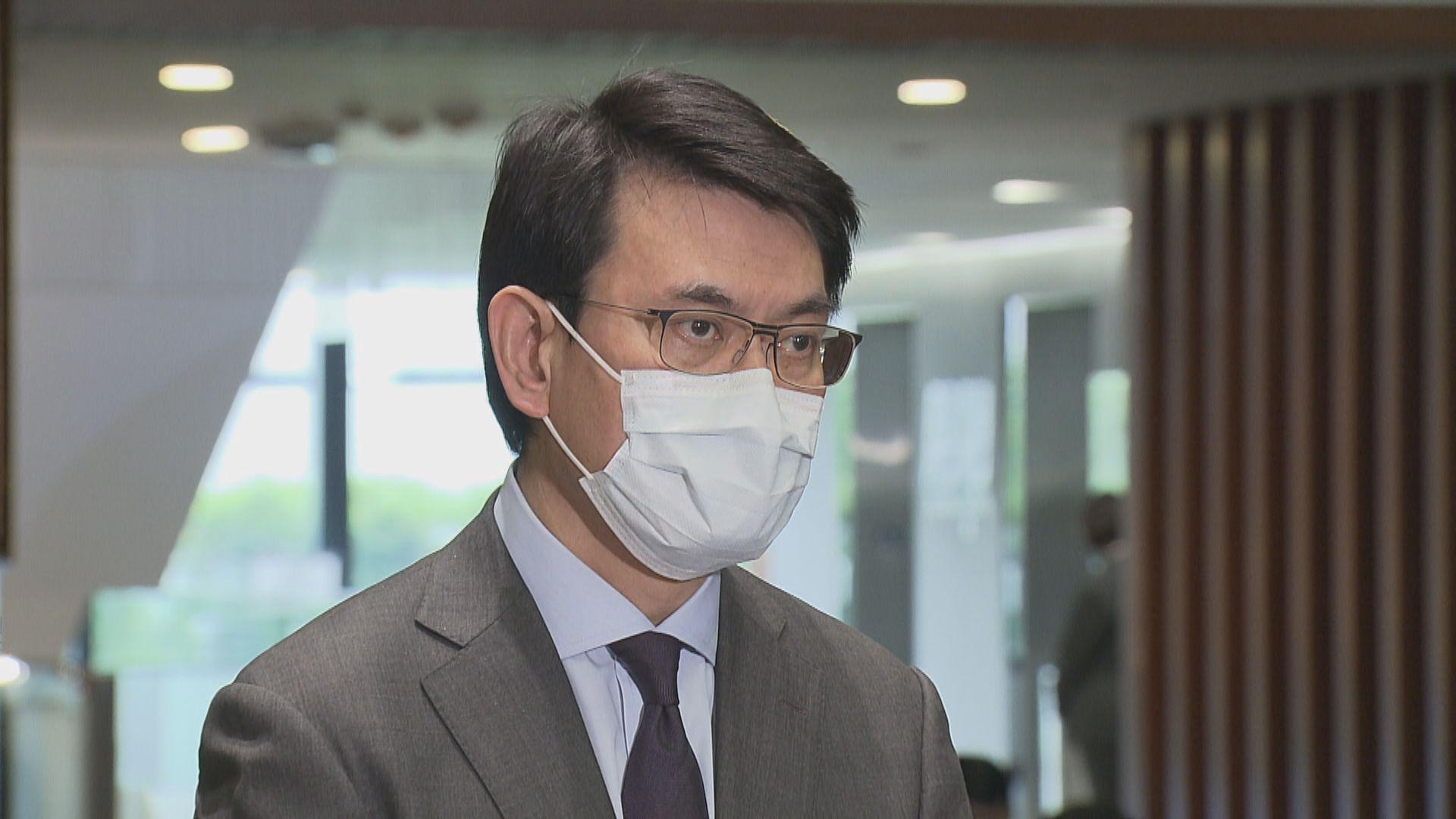 邱騰華:港台節目底線是不能違反約章