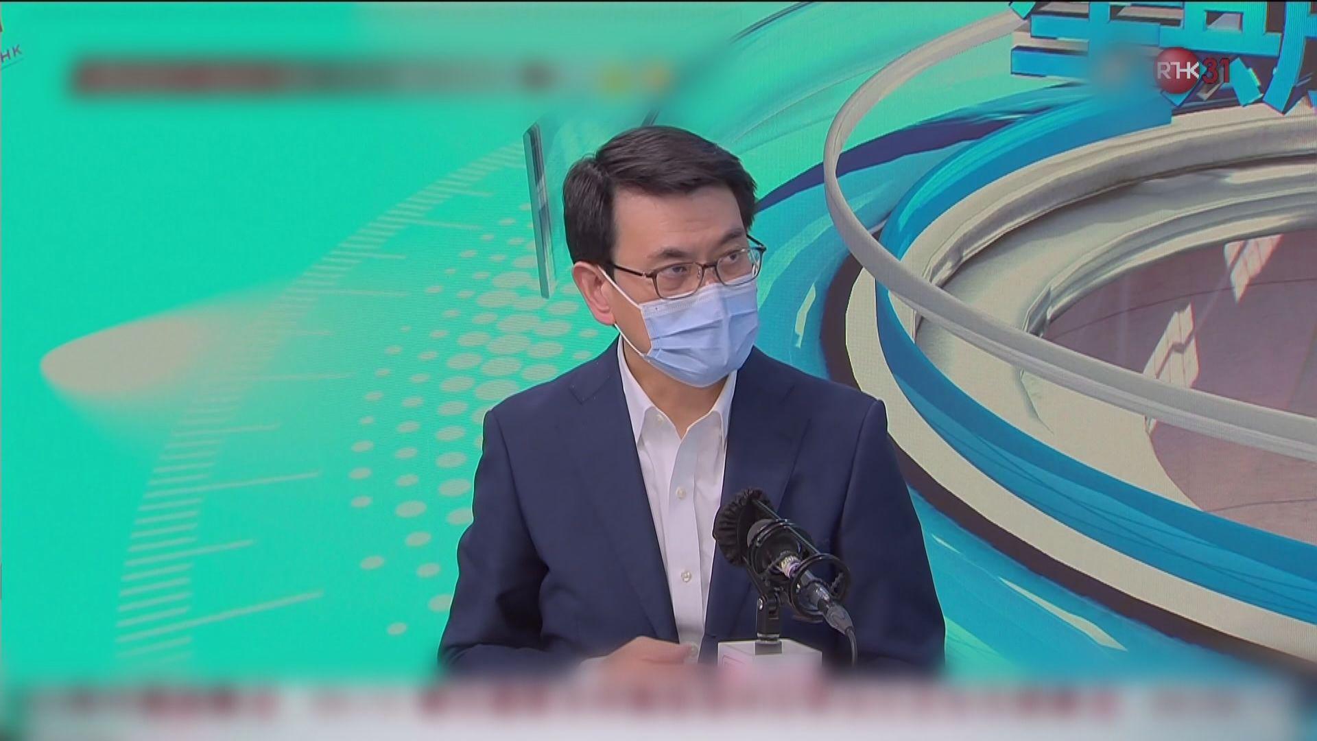 邱騰華:非要將港台變成政府喉舌 編輯自主並非無約束