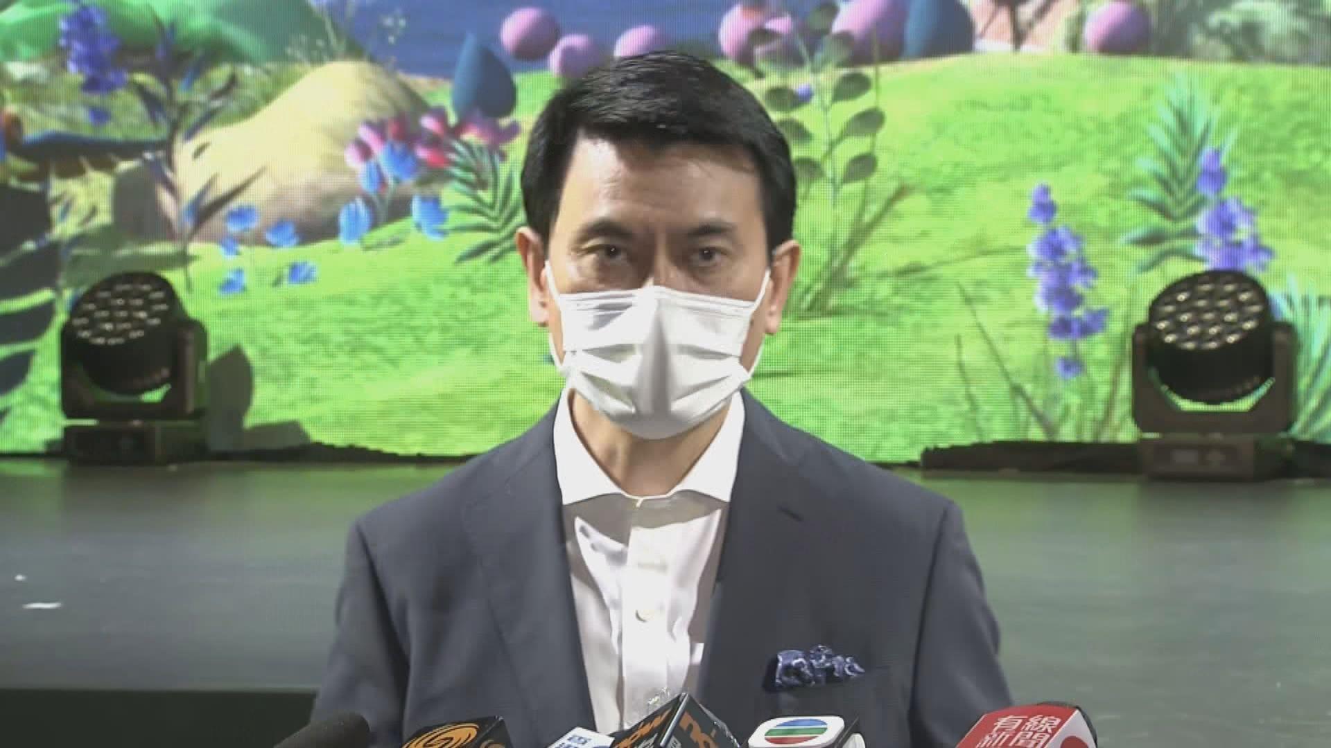 邱騰華:政府沒有介入港台節目調配決定