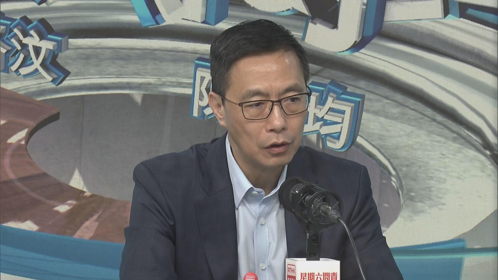 楊潤雄︰理大衝突中無嚴重受傷算安心結局