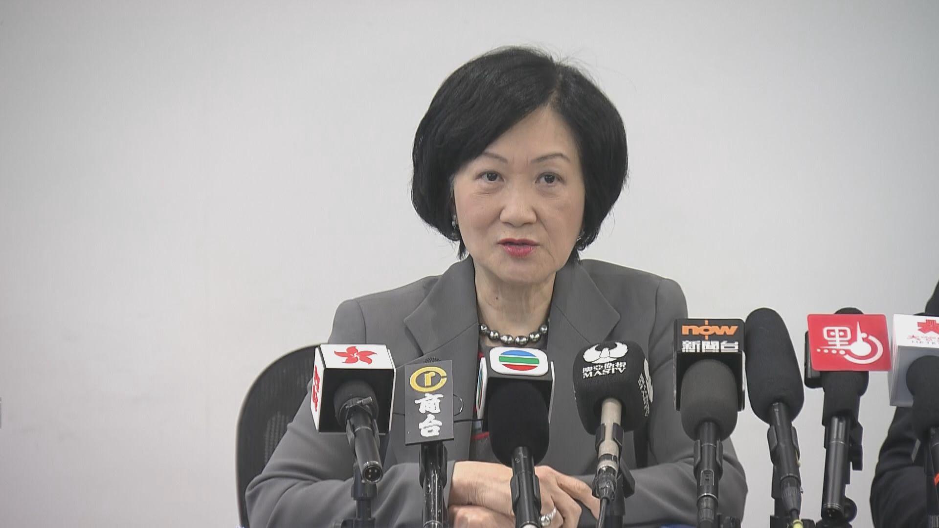 葉劉淑儀:官員應直接與市民對話化解危機