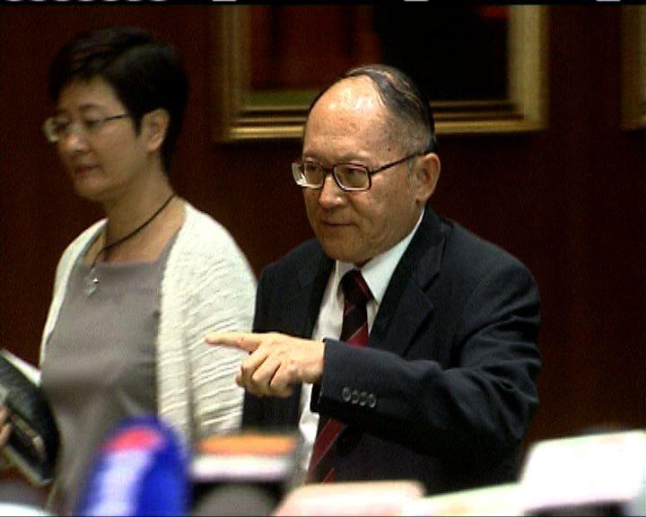 泛民建議押後審議撥款 吳亮星指政府拒絕