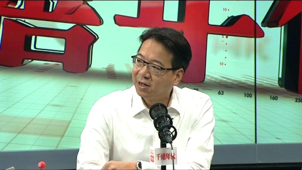 莫乃光:修改議事規則會永久削弱議員監察權