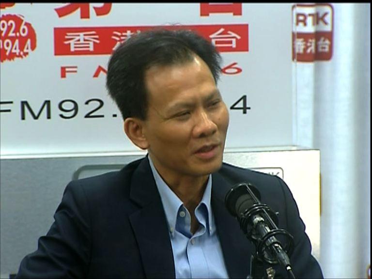 文灼非:港大校委主席懸空影響日常運作