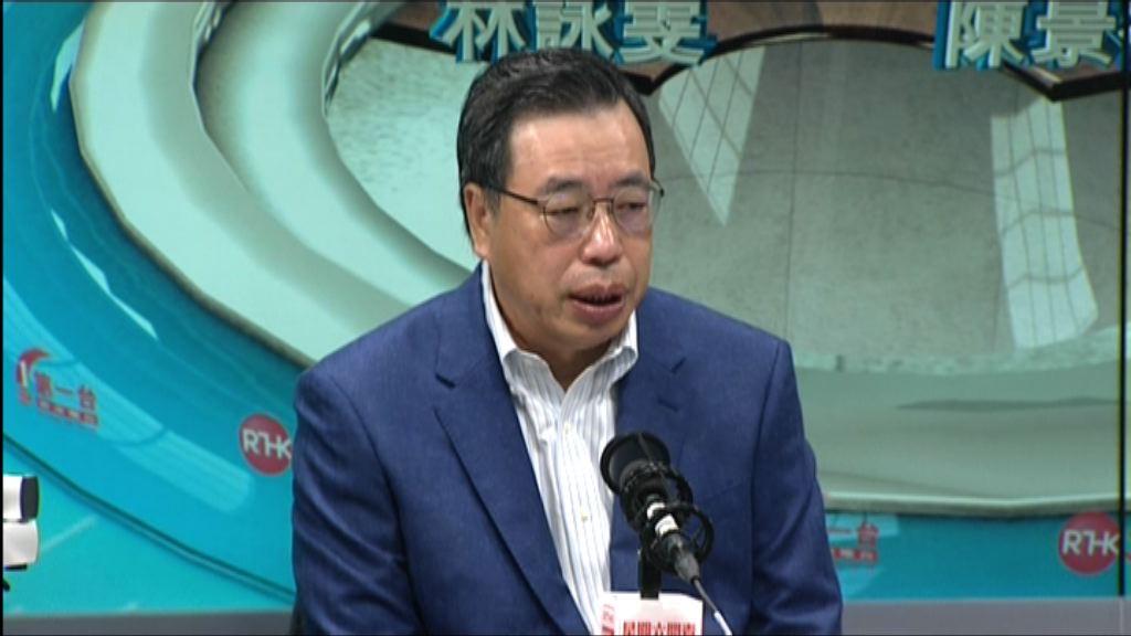 梁君彥:若議員希望到訪內地 他樂意安排