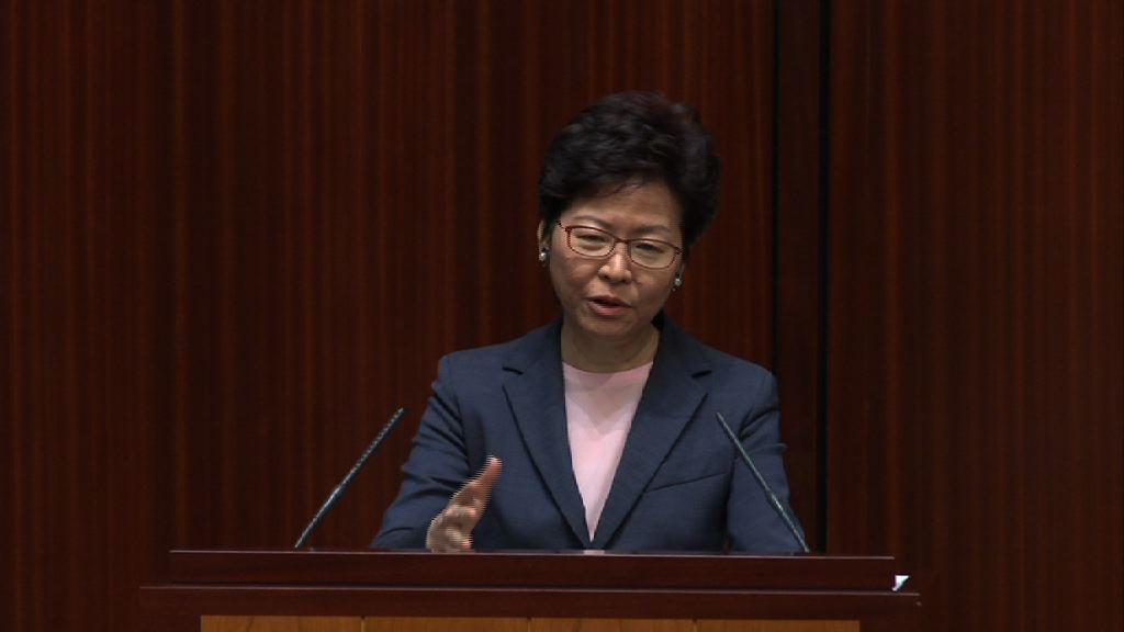 林鄭:願就改善升降機老化作出財政承擔