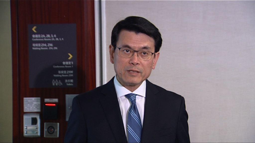 邱騰華:美國向華加徵關稅對港影響不大