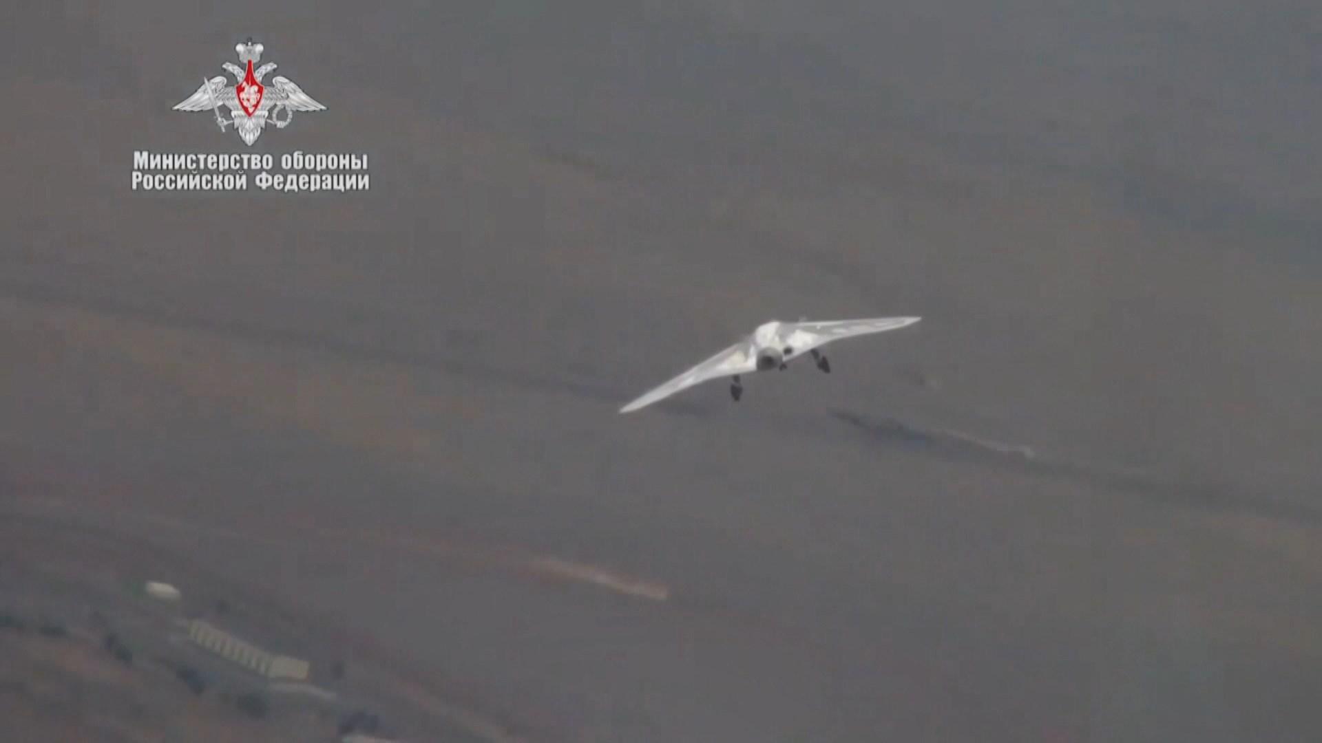 俄羅斯最新重型無人機首次試飛