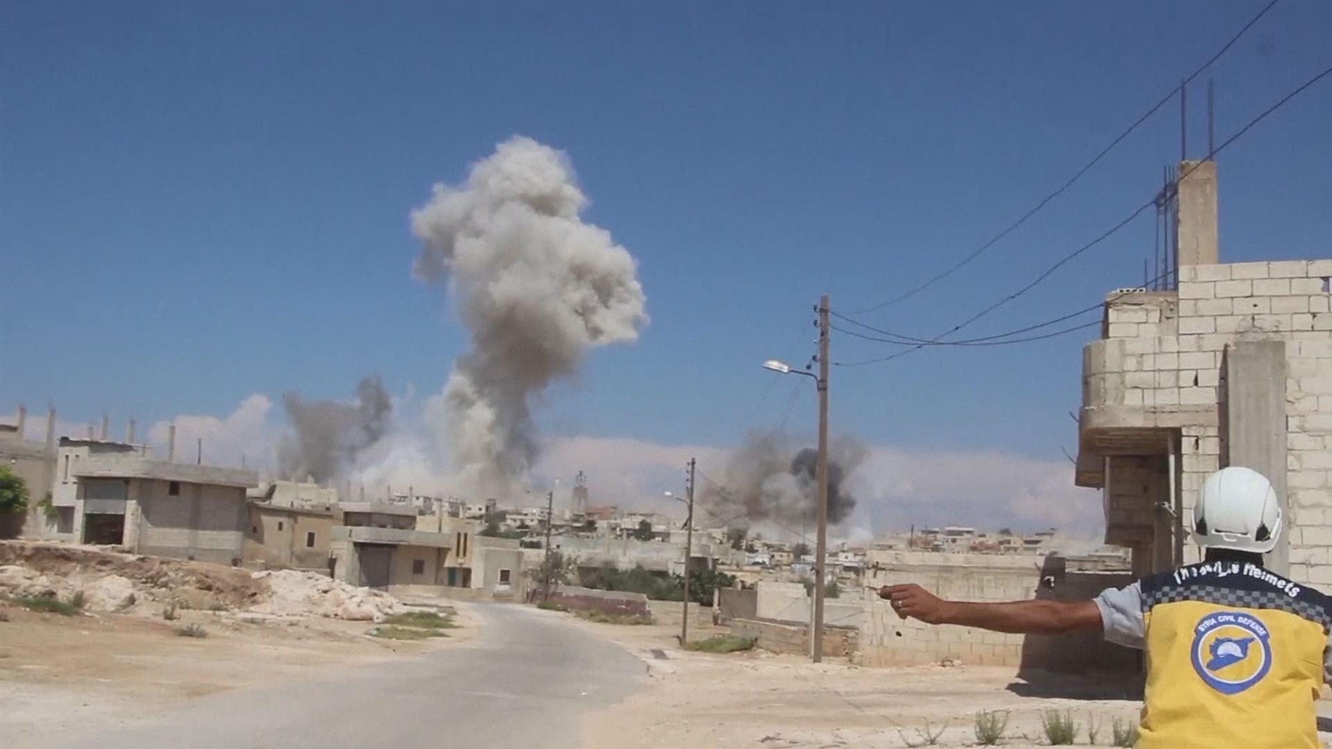 美俄於敘利亞戰事角力加劇