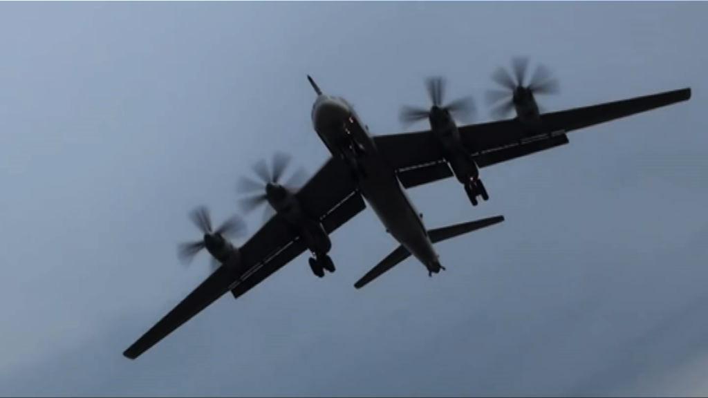俄派轟炸機飛越朝鮮半島附近