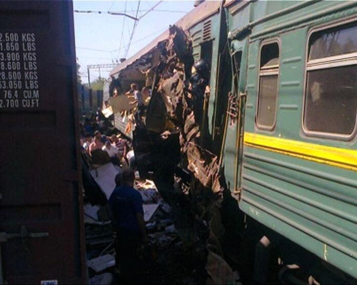 俄羅斯火車相撞最少5死