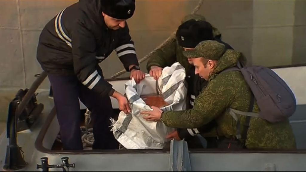 俄失事飛機一個黑盒打撈上岸