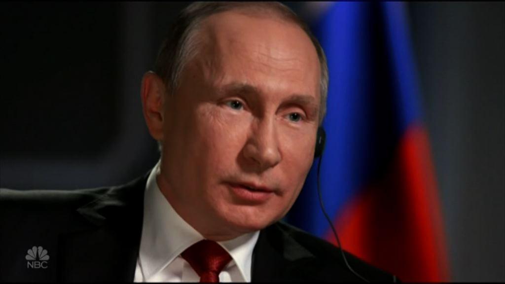 普京否認干預美國總統選舉