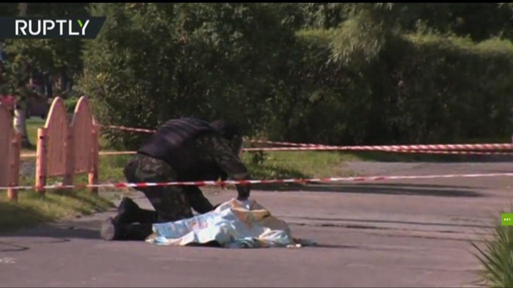 俄羅斯男子持刀傷人遭擊斃