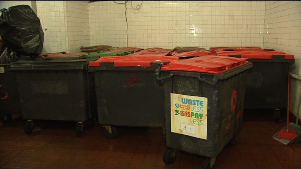 消息:垃圾費每公升低於0.15元
