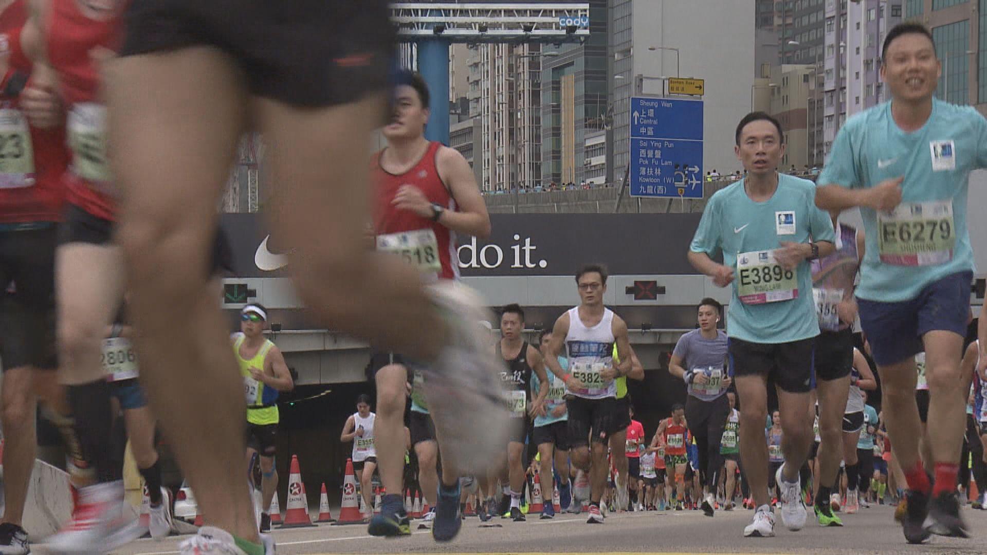 渣打香港馬拉松籌備委員會:嚴正要求跑手絕對守法
