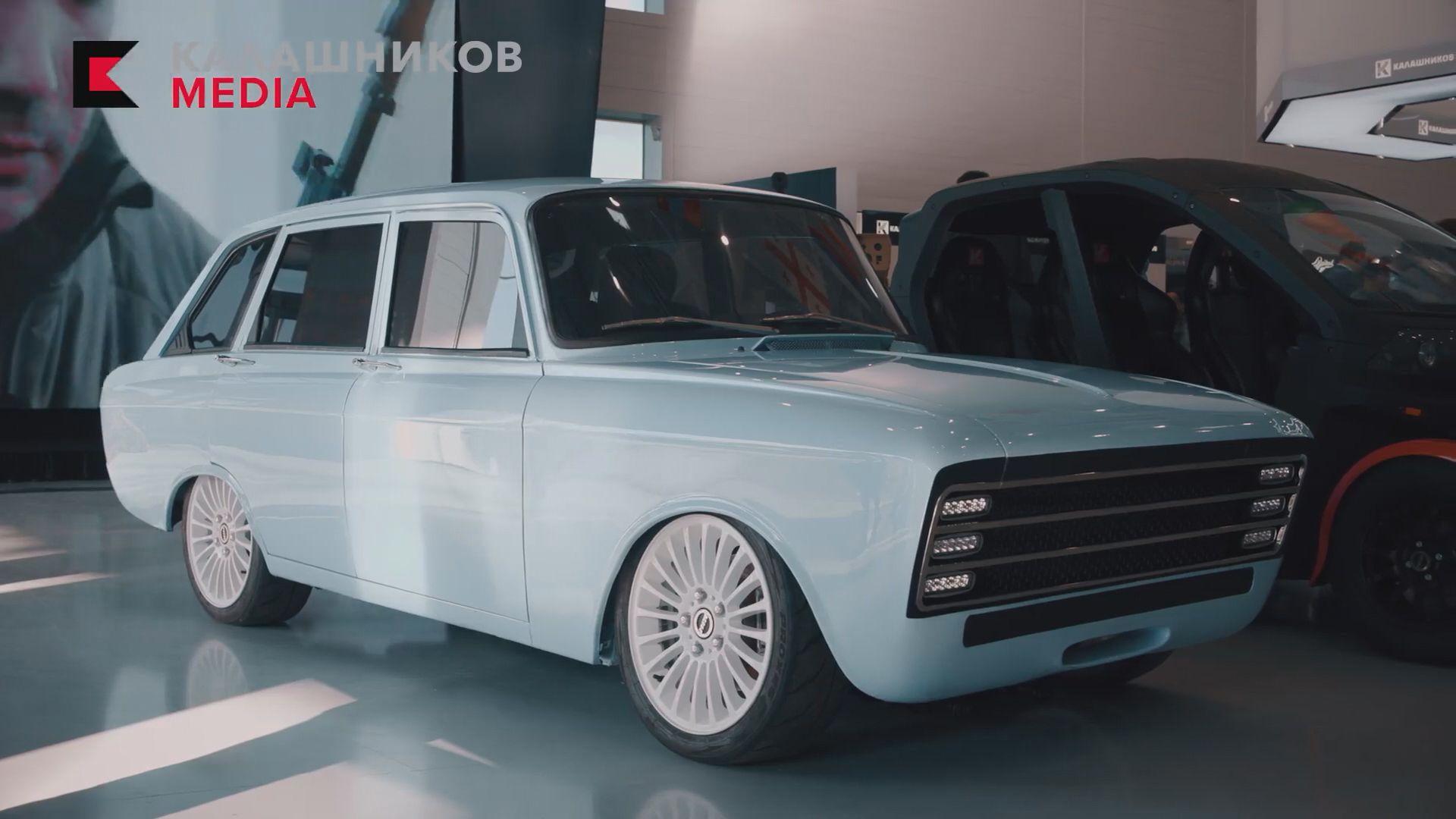 俄軍工企業推出電動車