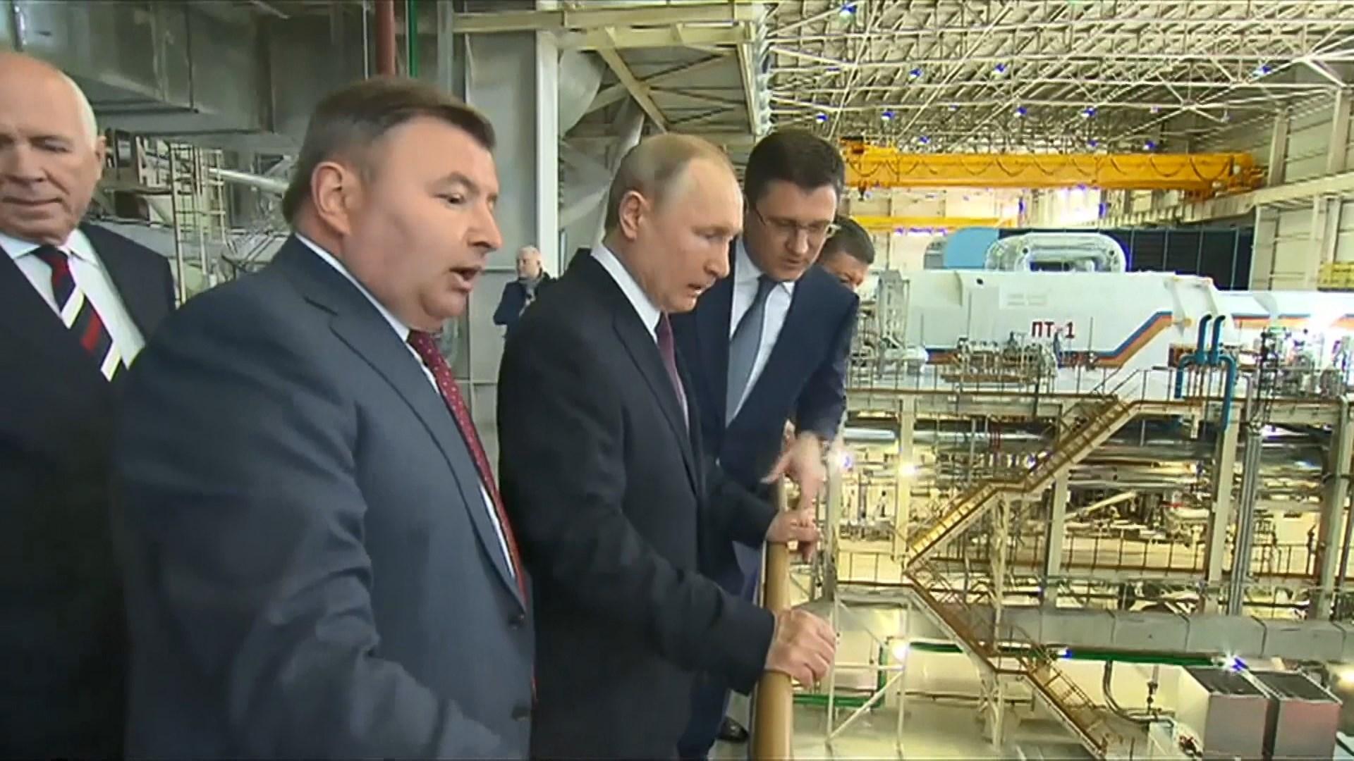 俄吞併克里米亞五周年 普京到訪當地