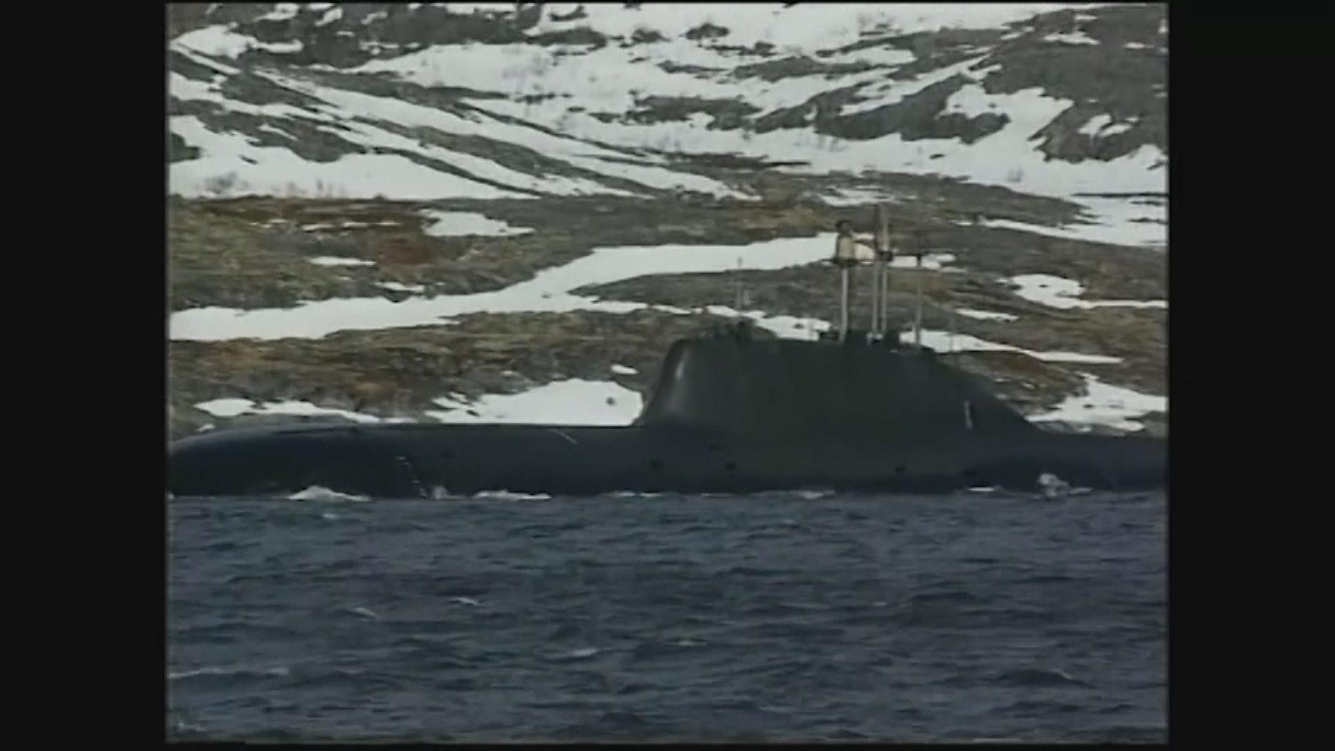 俄軍深海科研潛艇起火 14船員死亡