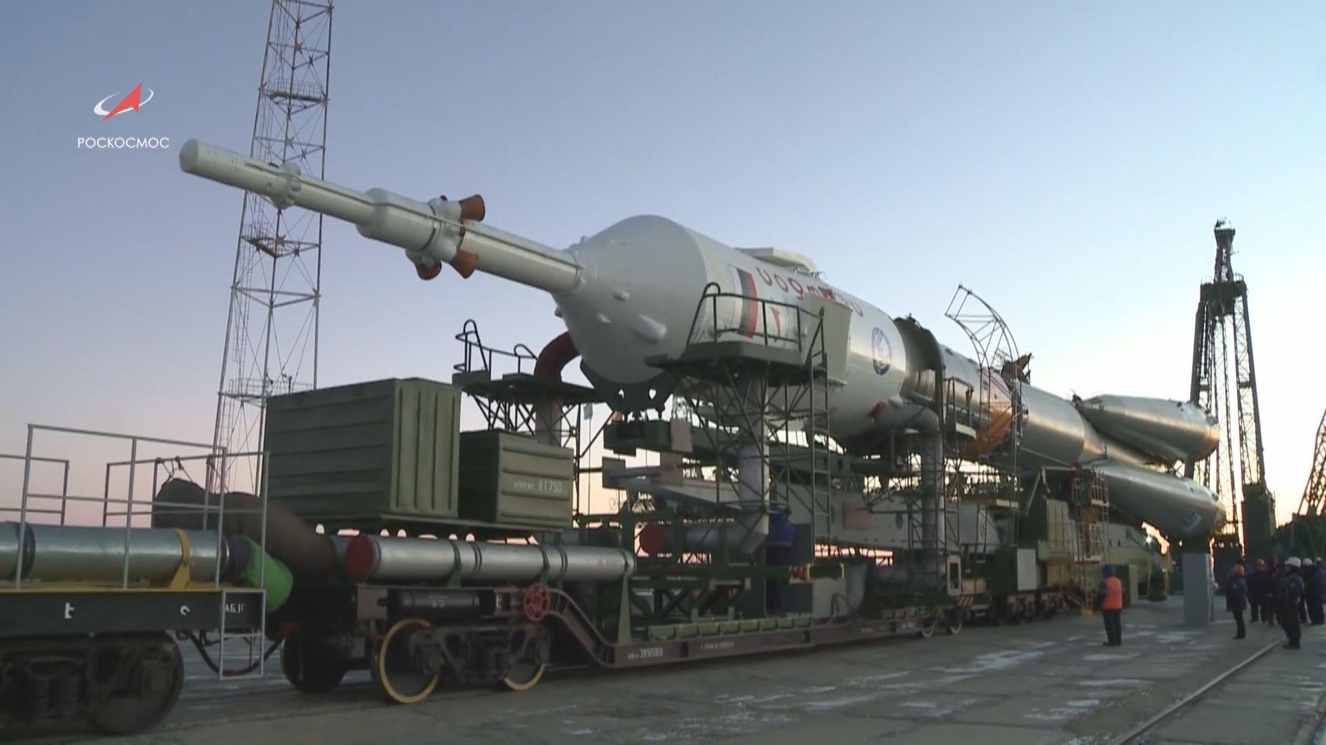 俄羅斯聯盟號太空船周一再度升空