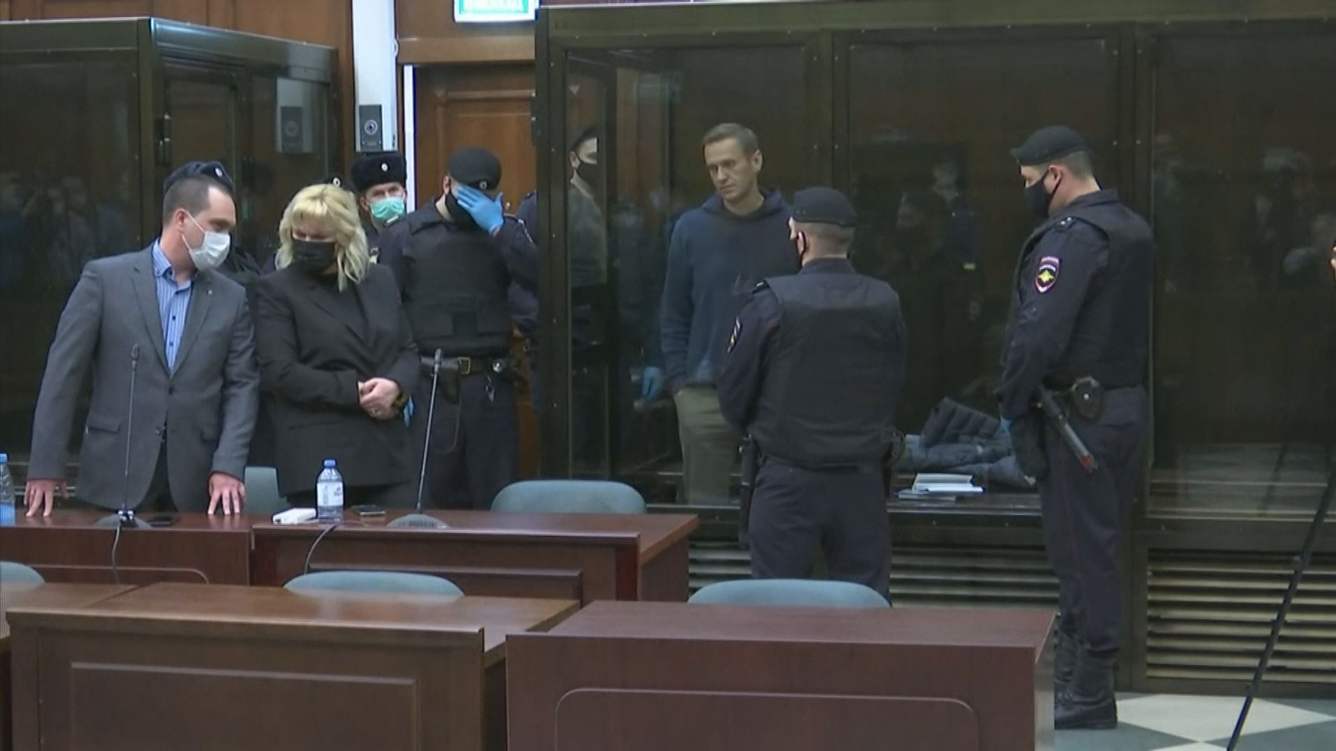 俄羅斯反對派領袖納瓦爾尼遭判囚三年半