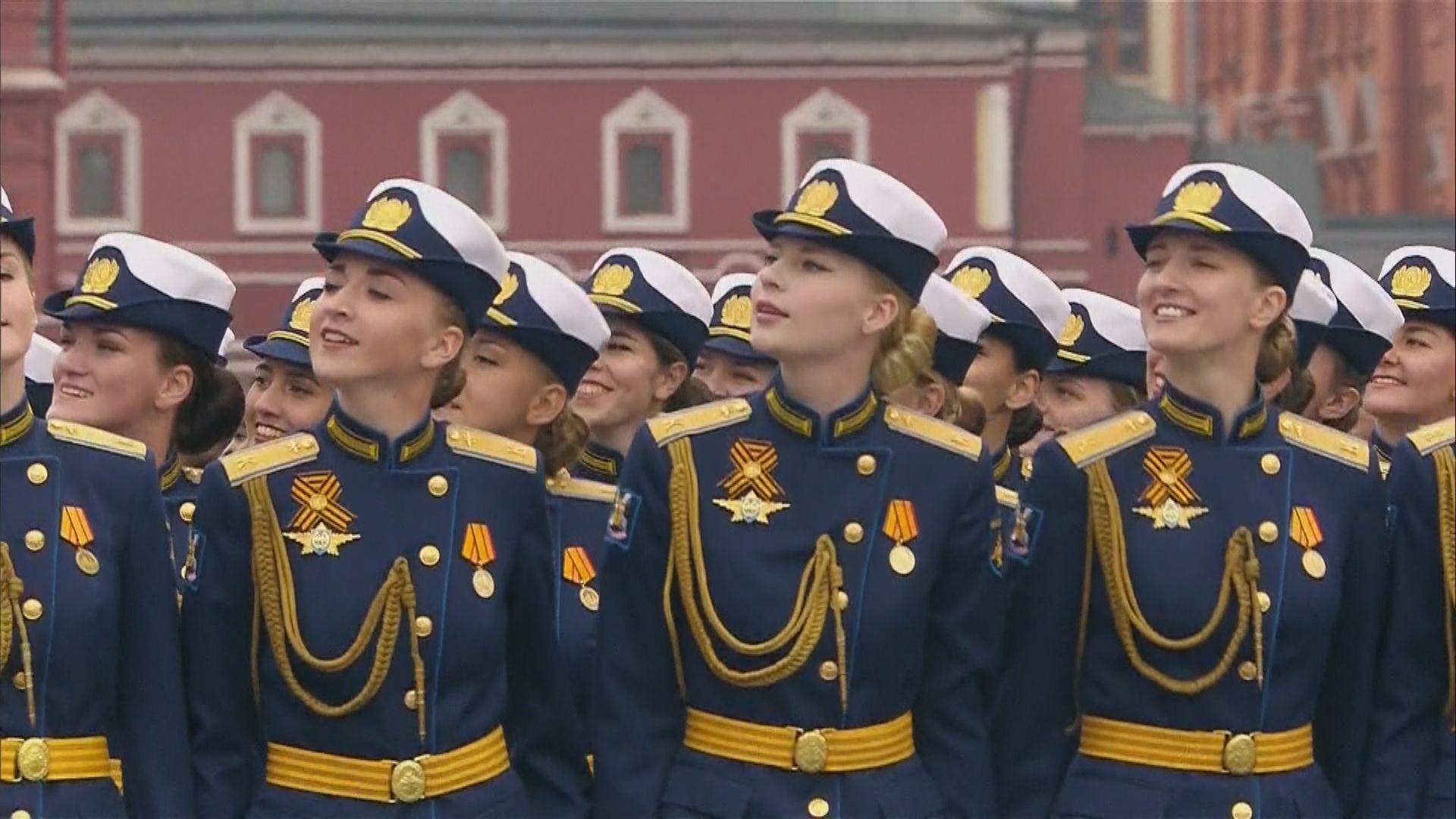 俄羅斯衛國戰爭勝利74周年閱兵