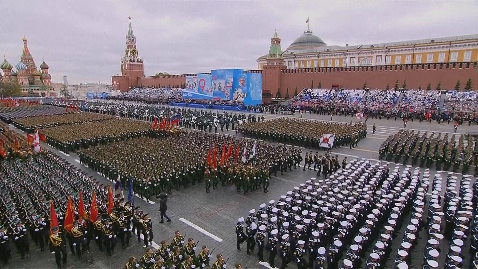 俄羅斯舉行衛國戰爭勝利紀念閱兵