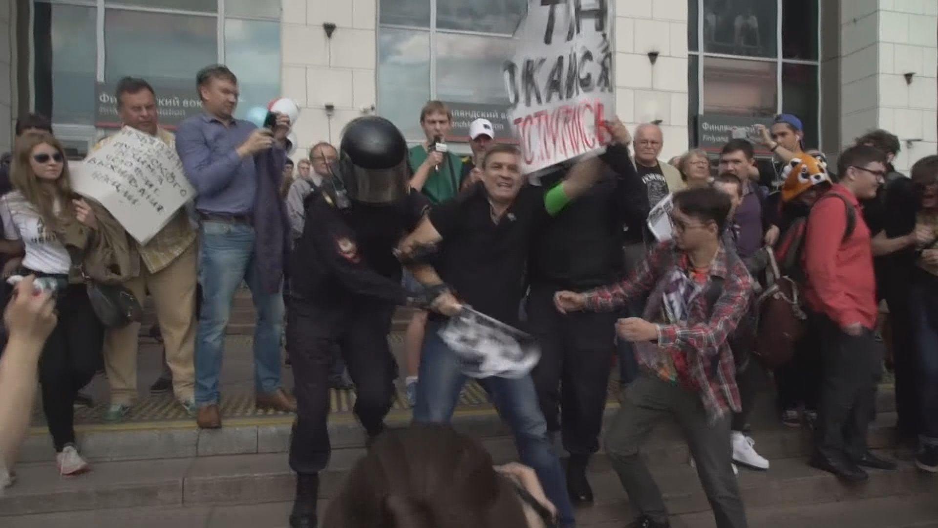 俄羅斯再有示威抗議提高提休年齡