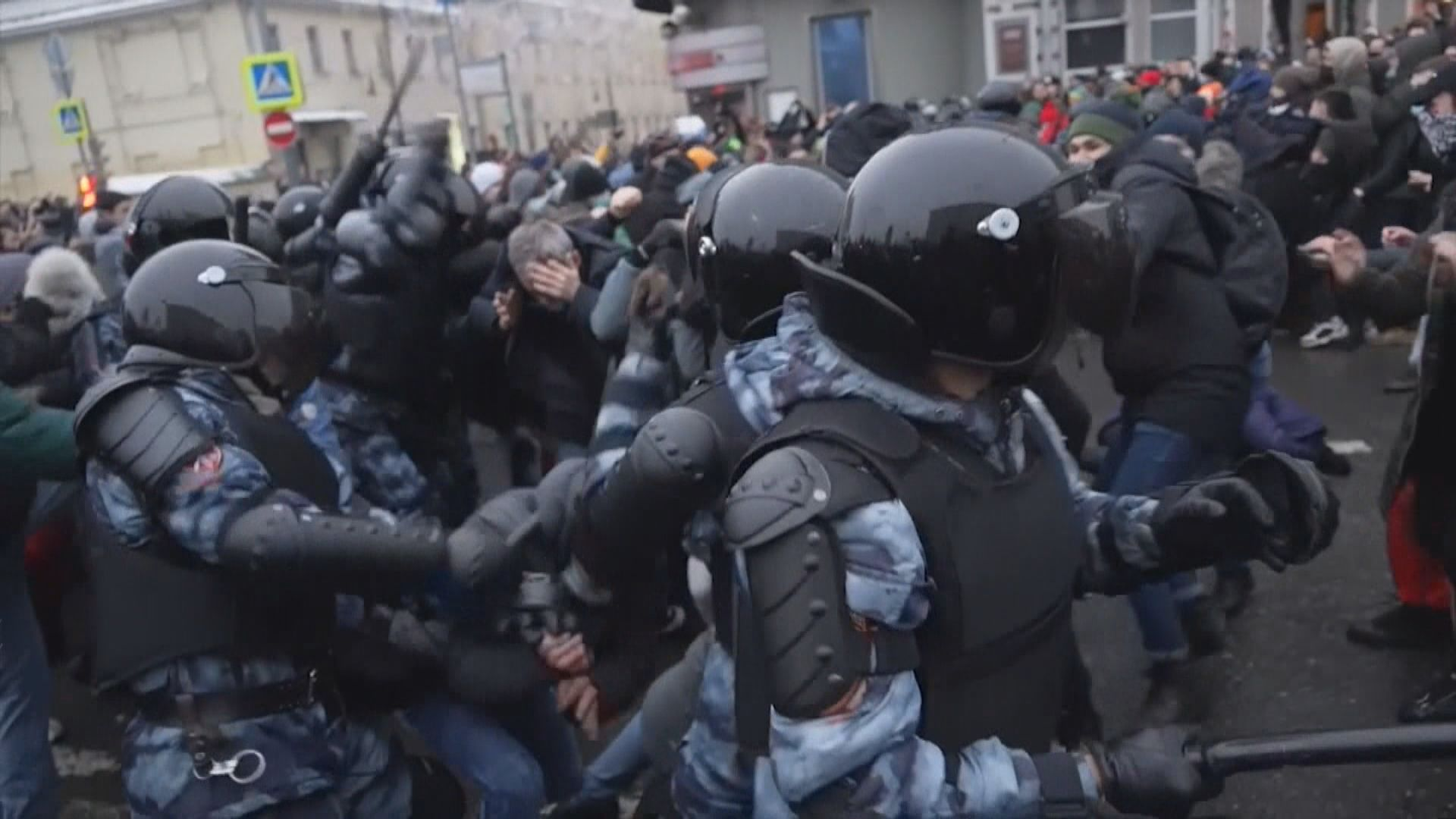 歐美多國敦促俄羅斯當局立即釋放納瓦爾尼