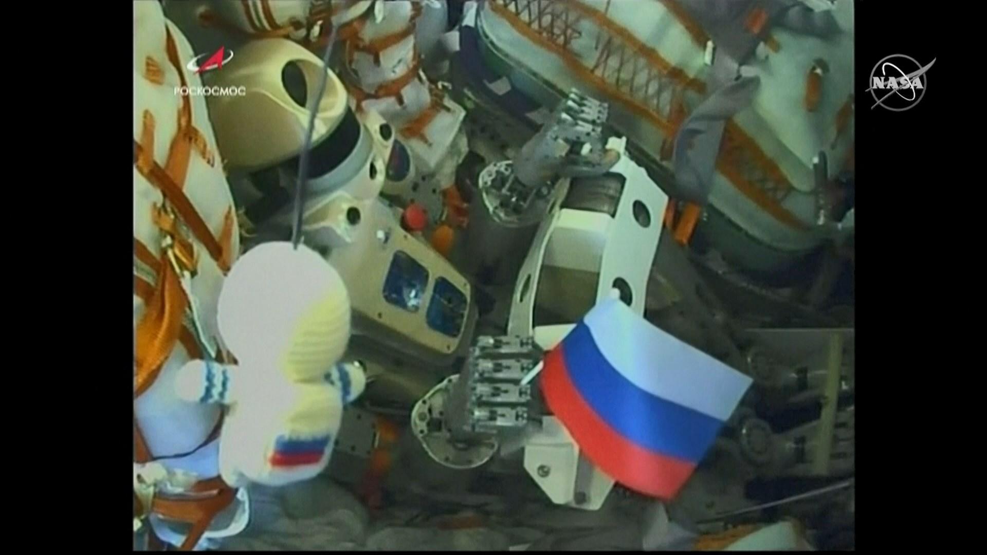 俄羅斯智能機械人乘飛船往國際太空站