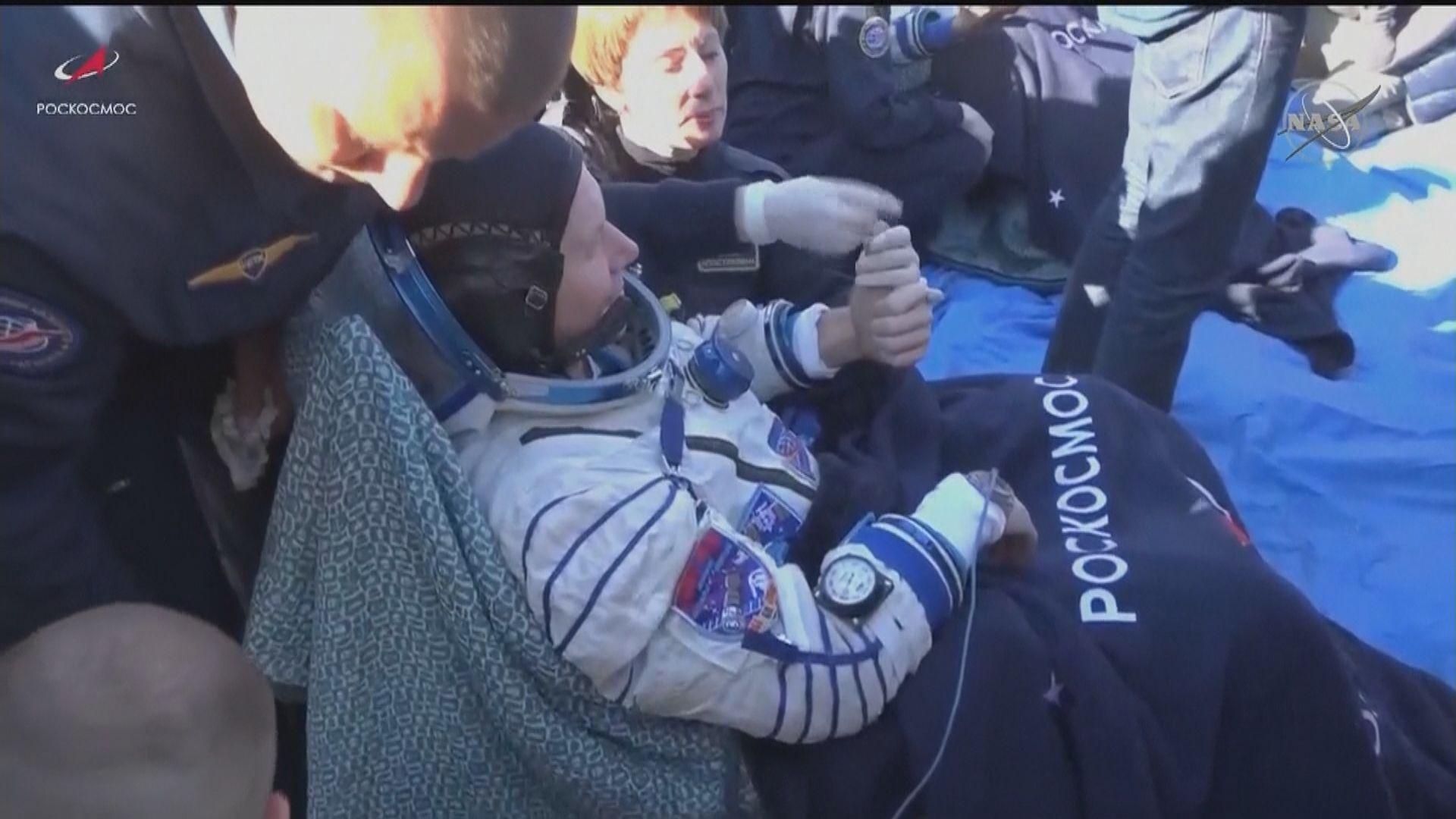 俄羅斯電影攝製隊完成十二日實景太空拍攝重返地球