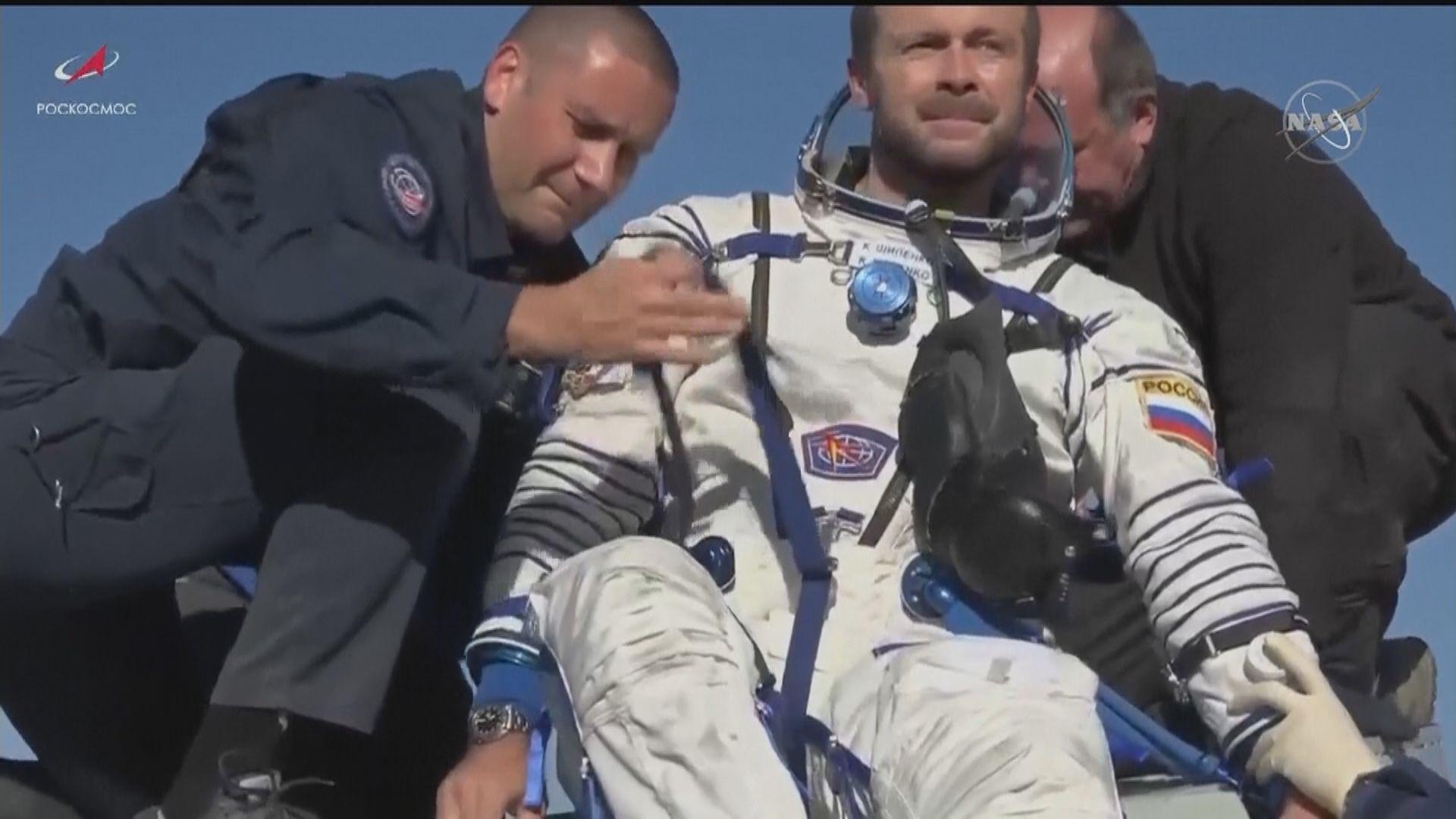 俄羅斯攝製隊完成太空取景 真實太空人有份客串