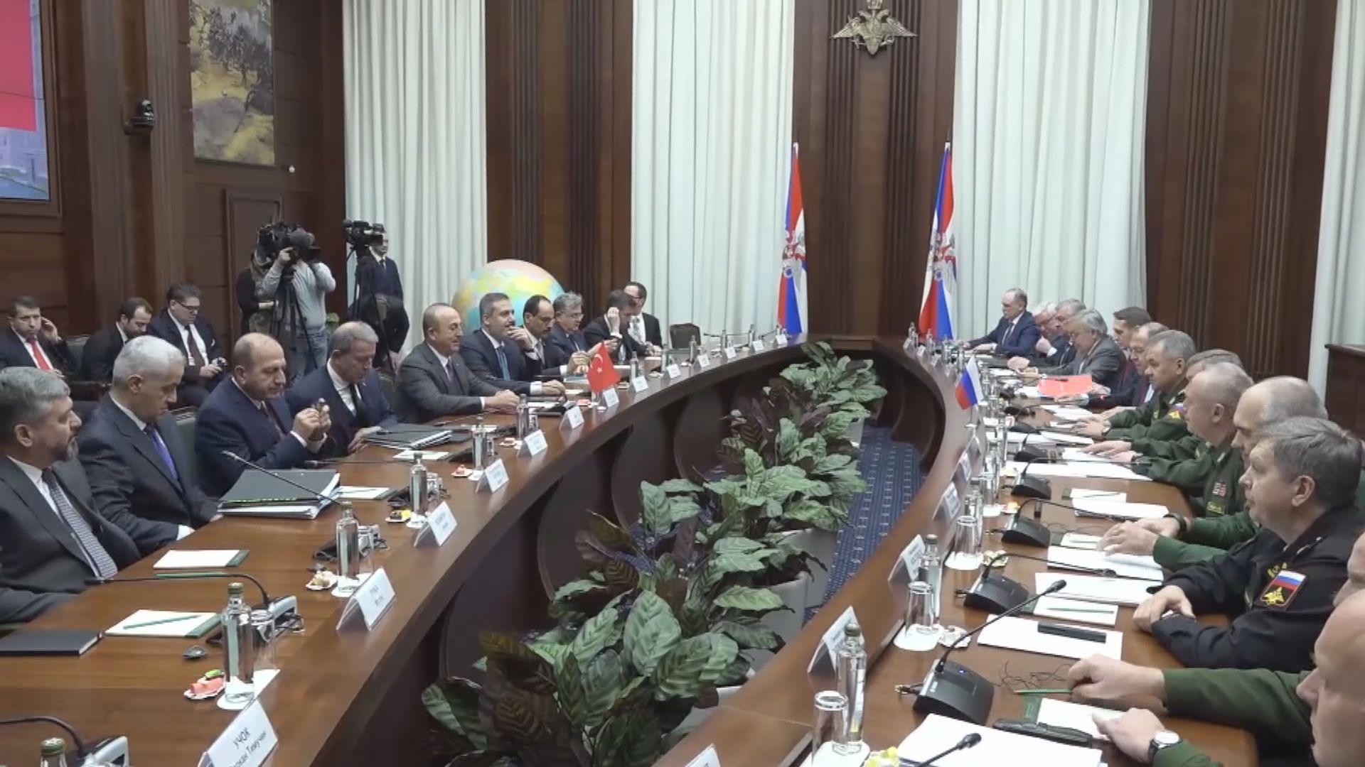 俄土高層官員開會商討敘利亞局勢