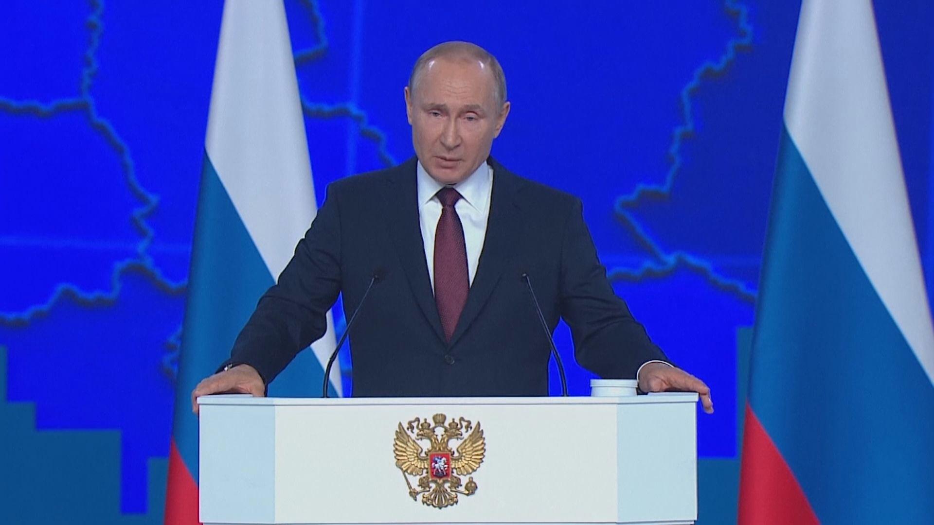 普京:俄羅斯準備好再迎導彈危機
