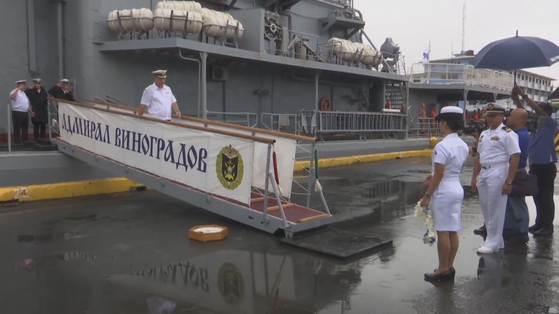 美俄軍艦在東海險碰撞 俄方提出抗議