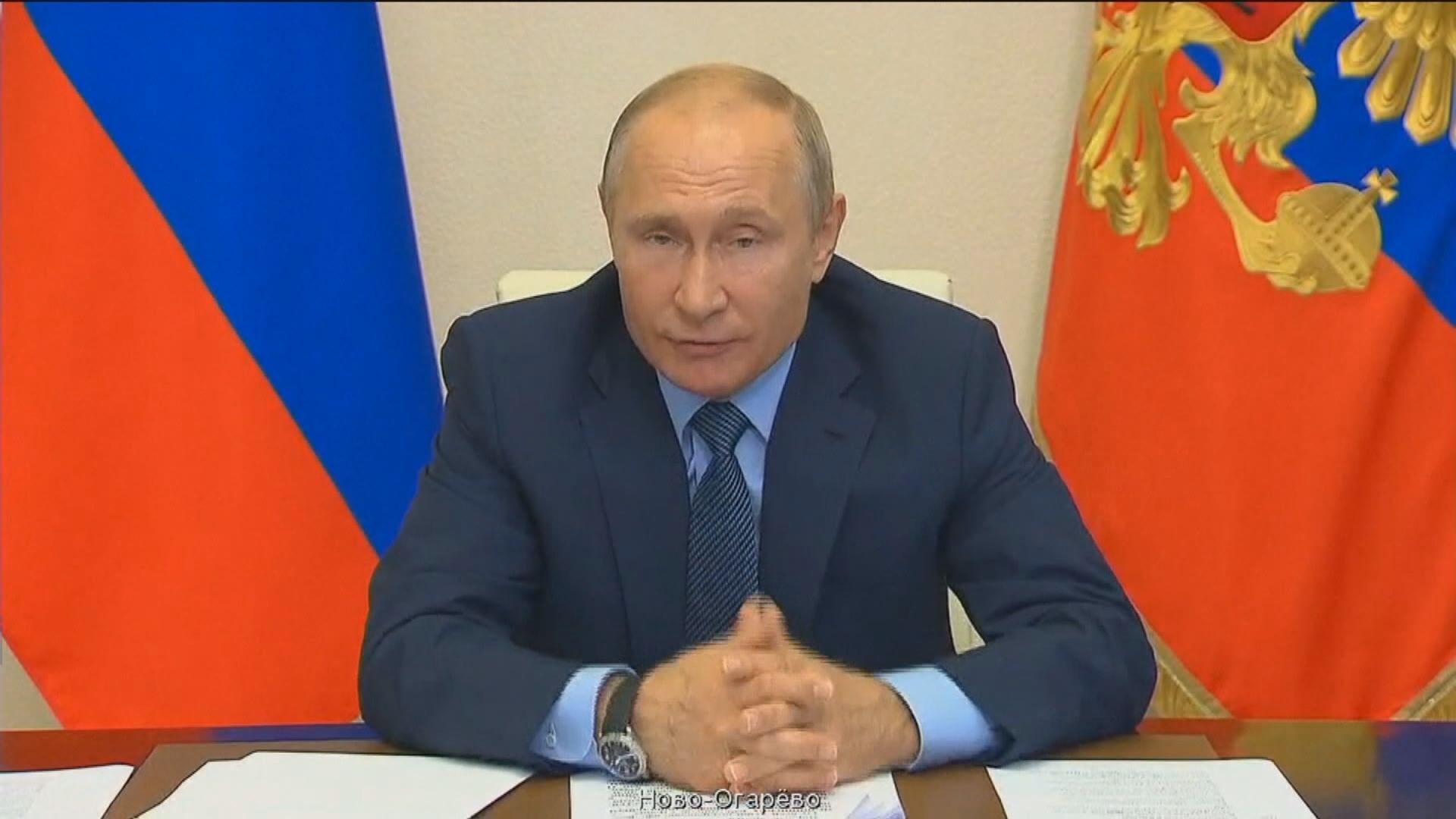 普京:若修憲公投獲通過將考慮競逐連任