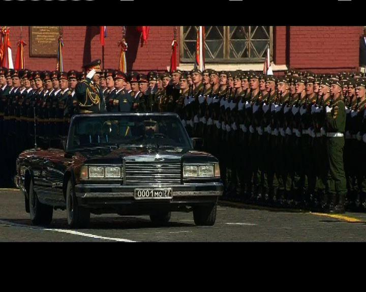俄閱兵紀念衛國戰爭勝利周年