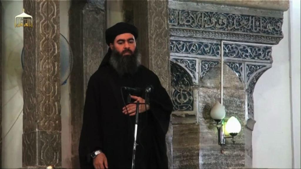 伊斯蘭國領袖巴格達迪據報空襲中喪生
