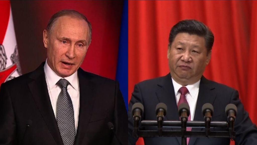 習近平和普京同意下月上旬會面