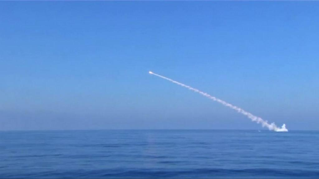 俄軍以巡航導彈攻擊伊斯蘭國據點