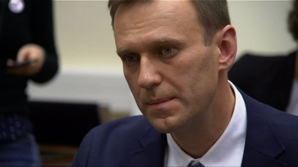 俄反對派領袖納瓦爾尼登記參選總統