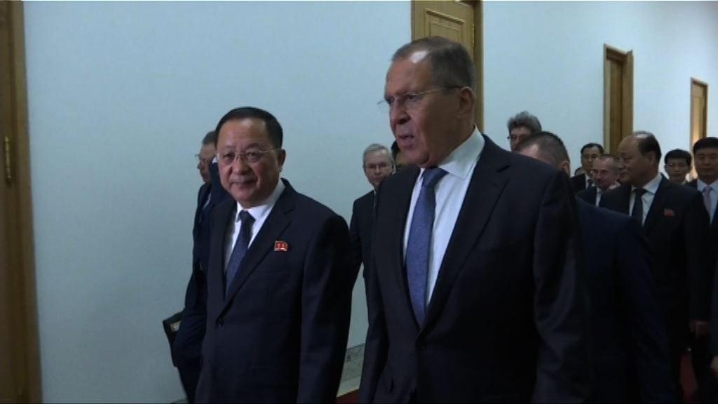 俄羅斯外長拉夫羅夫訪問北韓晤金正恩