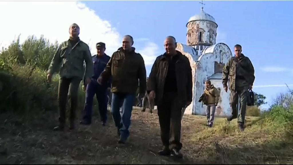 普京為杜馬選舉落區造勢